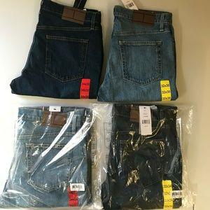 Tommy Hilfiger Men's Stretch Straight Leg Jeans